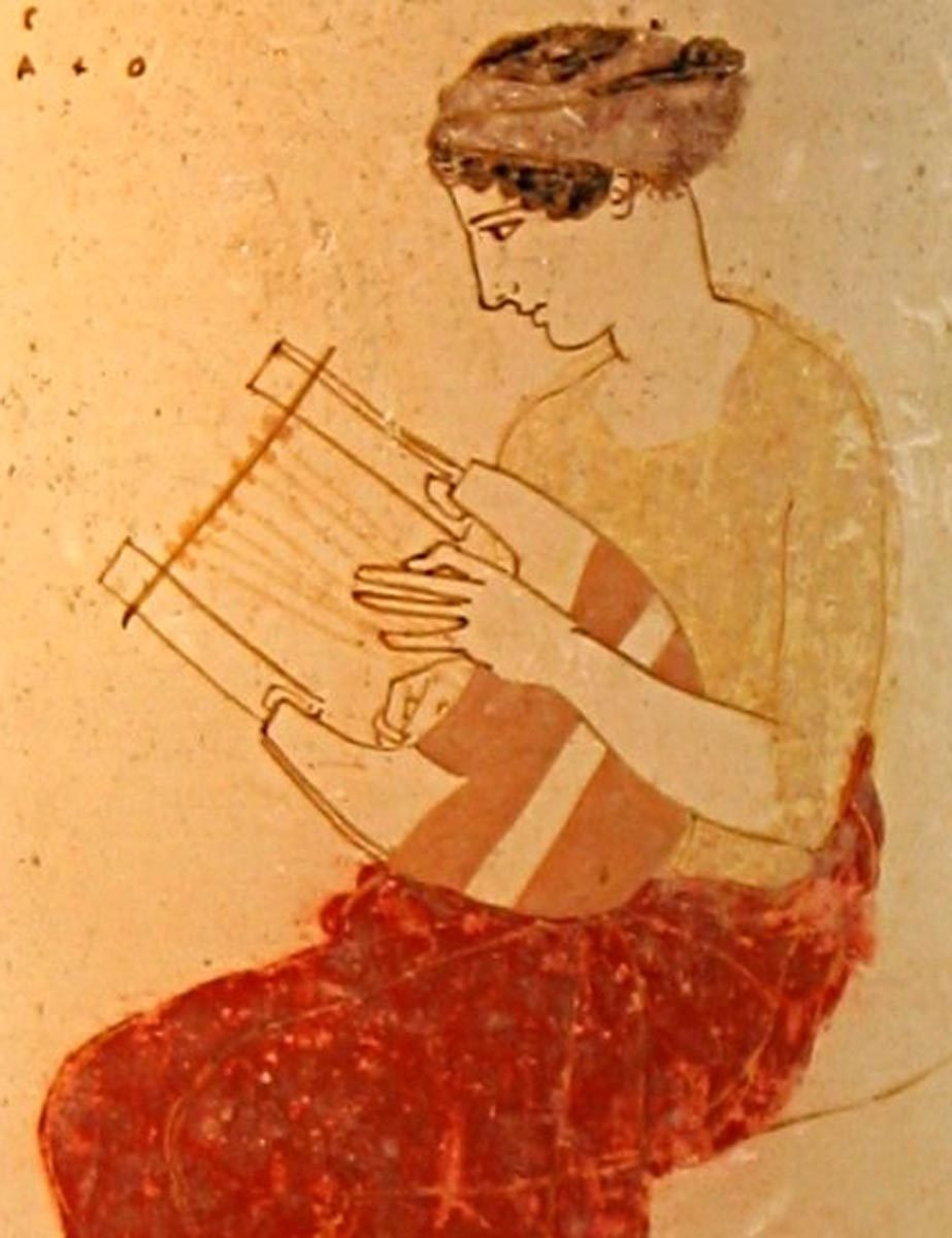 ancient greek musical instruments How did ancient greek music sound rediscover the instruments that played them represents a musical note a fifth higher than n halfway down the.