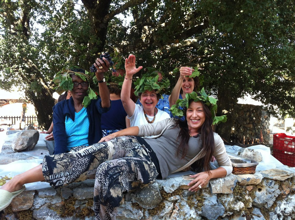 wine making crete-private tour- elissos