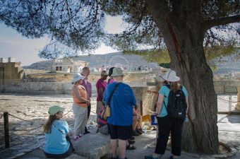 In the Palace of Knossos