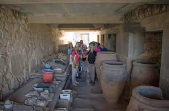 In the Palace of Knossos – Storagerooms