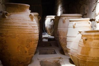 In the Palace of Knossos- Storage rooms